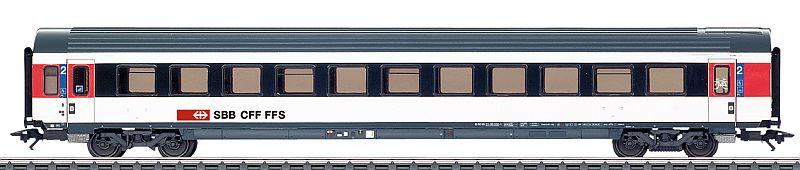 Märklin 42156 + 42157 SBB Schnellzugwagen Typ EW IV B 2. klasse