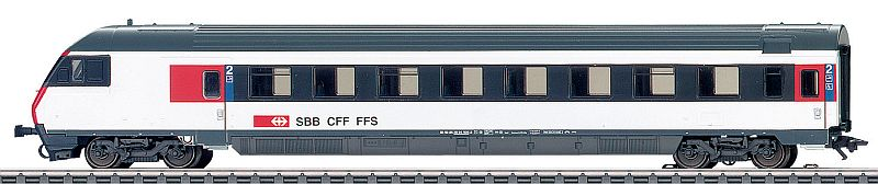 Märklin 42179 SBB Schnellzug-Steuerwagen Typ EW IV Bt