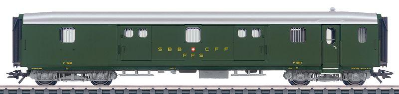 Märklin 43402 SBB Leichtstahl-Gepäckwagen F 4, Nr. 18833