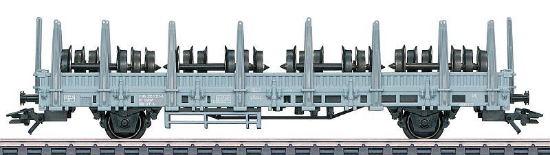 Märklin 46937 SBB Rungenwagen Typ Ks, beladen mit div. Radsätzen