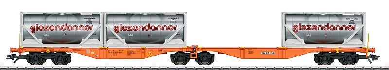 "Märklin 47805 Gelenk-Container-Tragwagen ""Giezendanner"""