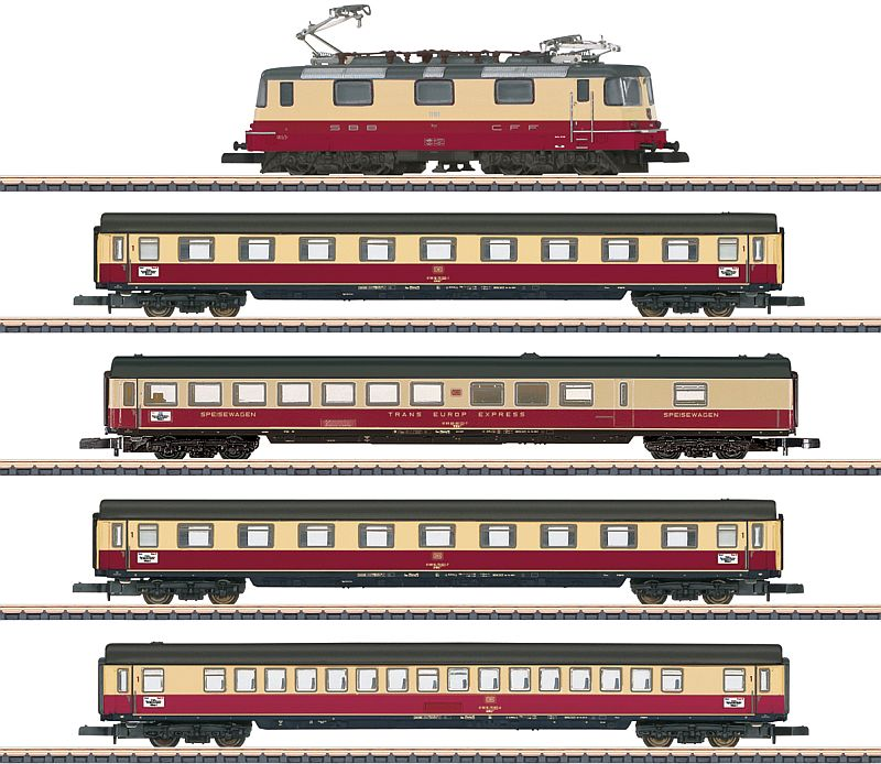 "Märklin 81593 5-teilige SBB Zugpackung ""TEE 75 Roland"""