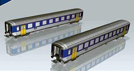 Piko 96781 2-teiliges SBb Personenwagen-Set EW I A+B