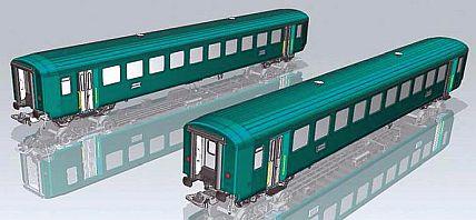 piko 96782 SBB Personenwagen-Set EW I 2.Klasse