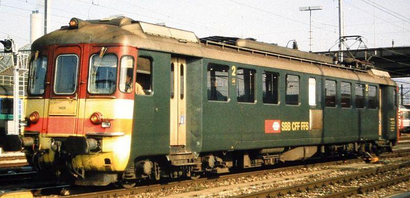 """Piko 96832 SBB RBe 4/4 Nr. 1406 """"Seetal-Ausführung"""""""