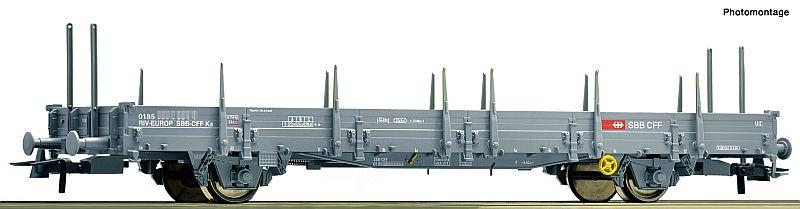 Roco 76873 SBB Rungenwagen Typ Ks grau