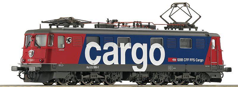 "roco 52662 SBB Cargo Ae 610 500-1 ""Landquart"""