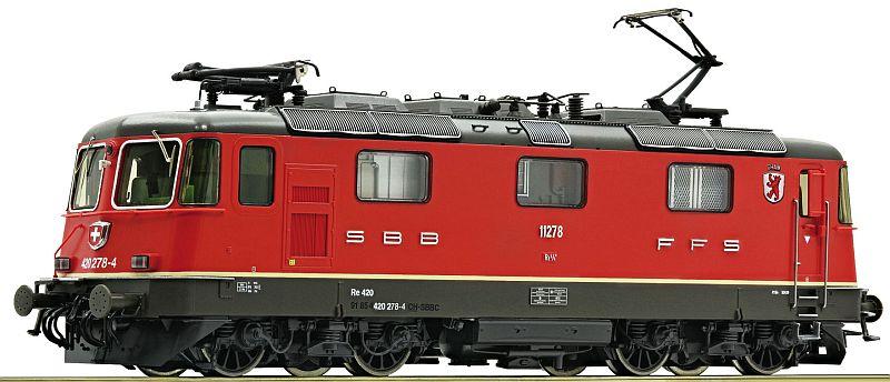 """Roco 73285 SBB Re 420 278-4 mit Wappen """"Cham"""""""