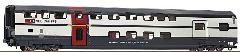 Roco 74501 SBb Doppelstockwagen IC 2000 1. Klasse mit serviceabteil