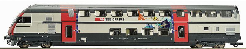 Roco 74505 SBb Doppelstock-Steuerwagen Typ IC 2000, Bauart Bt
