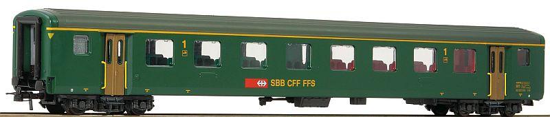 Roco 74569 SBB Schnellzugwagen EW II 2. Klasse mit Logo
