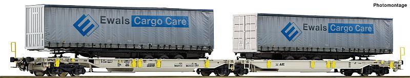 Roco 76437 Gelenktragwagen der Ewals-Cargo-Care