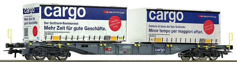 Roco 76622 SBb Containertragwagen im GBT-design