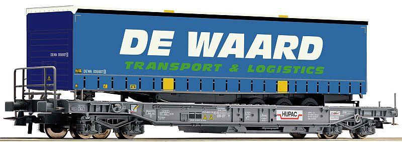 Roco 76754 Einheitstaschenwagen der Hupac AG