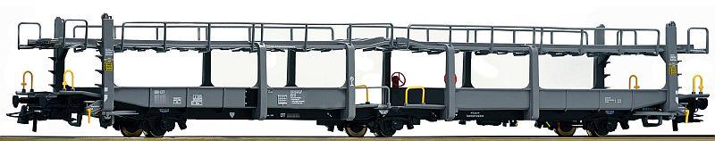 Roco 76996 3-achsiger Autotransporter Typ TA378 der Fa. Cotra
