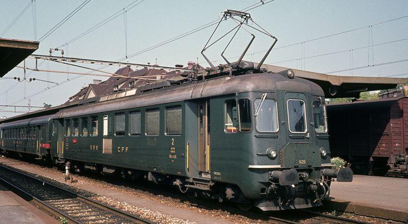 Piko 96845 SBB RBe 4/4 Nr. 1434 Alte Beschriftung