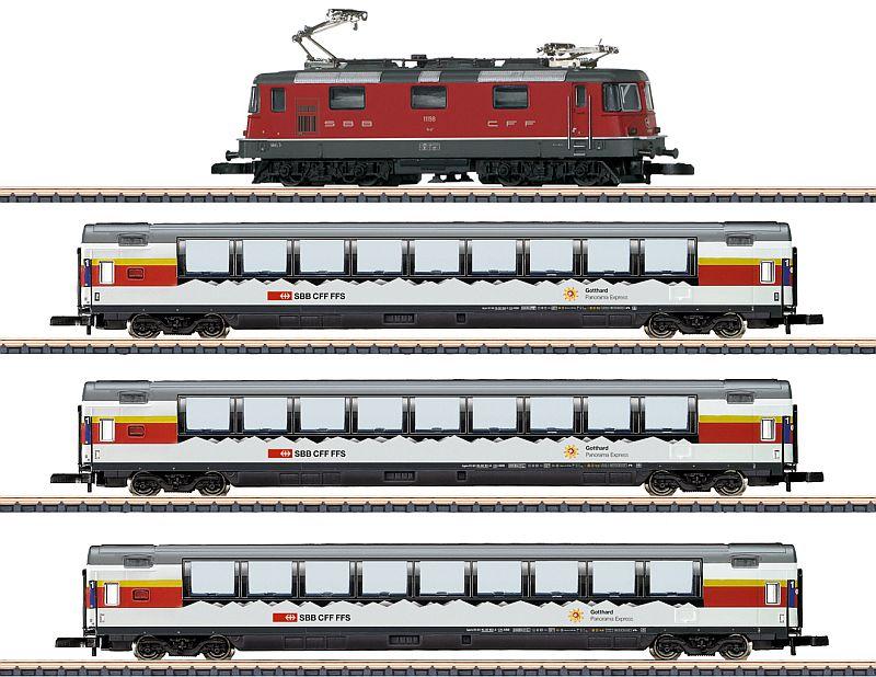 "Märklin 81594 4-teilige Zugpakung ""Gottard-Panorama-Express"""