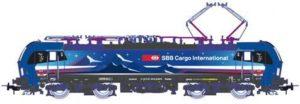 """Piko 97793 Hupac-SBB BR 193 492-6 """"Rhein"""""""