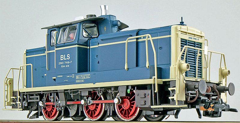 ESU 31413 BLS Em 3/3 (DB BR 260 749-7