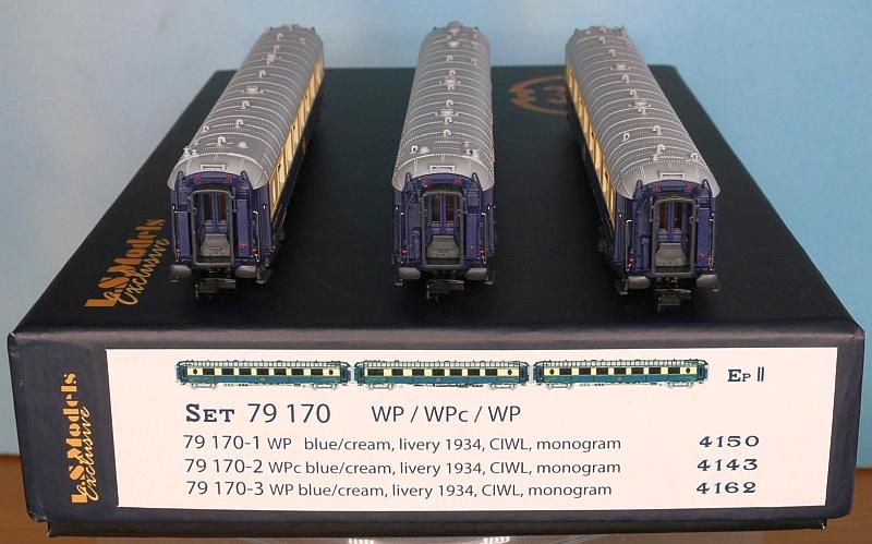 Ls Models 79170 3-teiliges Pullmanwagen-Set