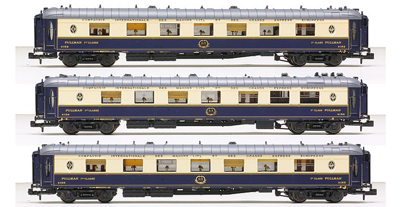 LS Models 79173 3-teiliges Pullmanwagen-Set